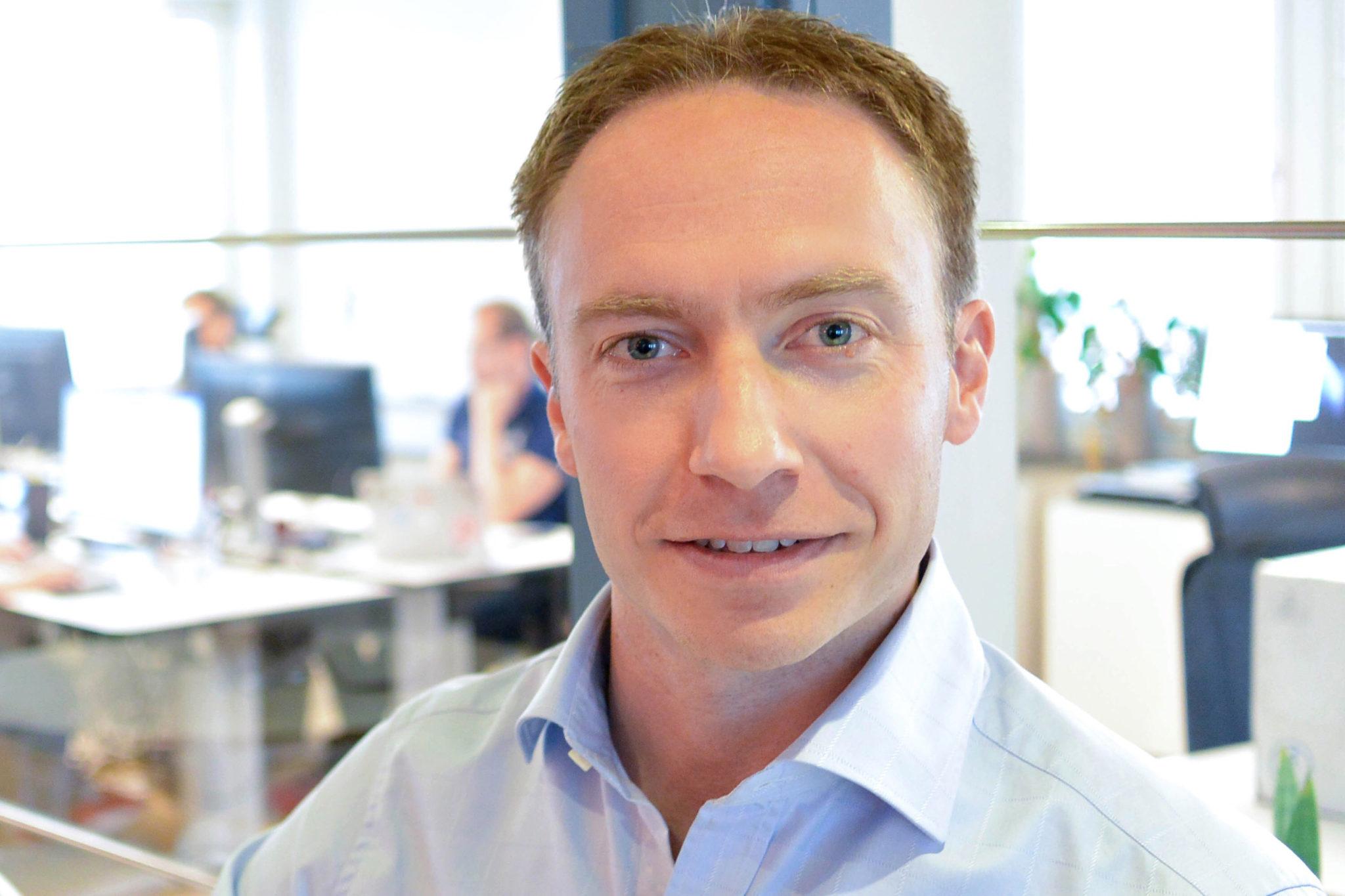 Johan Nilsson, VD Cenito Software