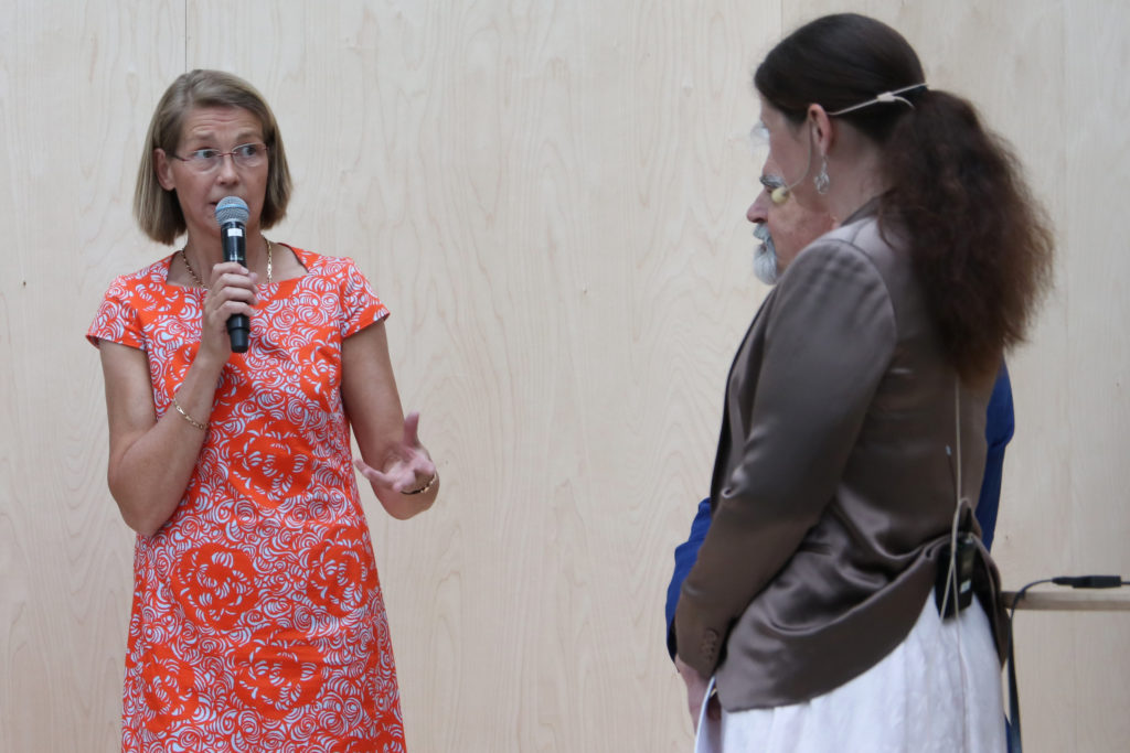 Stiftelsens ordförande Marianne Brismar