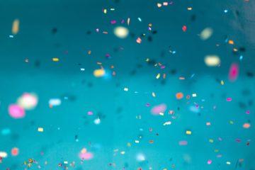 Confetti - Jason-Leung, Unsplash