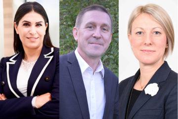 2020 års stipendiater, Miden Melle-Hannah, Mattias Johansson, Malin Wiger